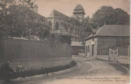 PONT-L'EVÊQUE, Rue De L'église Et Abside De L'église St Michel - Pont-l'Evèque