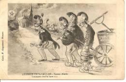 Cartes De 1914 - 1918    Légende De Saint SAULGE  -  Fausse Alerte - France