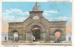 CPA - (Cuba) Habana - Portada Del Cementerio - Postcards