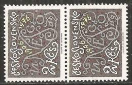 Cecoslovacchia 1976 Nuovo**- Yv.2171 X2 - Nuovi