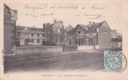 CPA 45 ORLEANS, école Normale D´Instituteurs. (1904) - Orleans