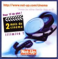 NET-UP. 2 Mois De Cinéma. Film. Clap. - Kits De Connexion Internet