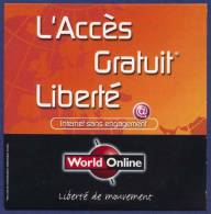 WORLD ONLINE. L´Accès Gratuit Liberté. - Kits De Connexion Internet