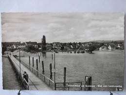 Carte Très Peu Courante - Allemagne - Immenstaad Am Bodensee - Blick Vom Landungssteg - Scan Recto-verso - Otros