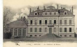 CPA   (58) DECIZE  Le Chateau De Brain - Decize