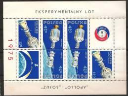 """POLAND  Apollo """"Sojuz"""" - Space"""