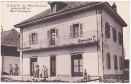 A. B. E. M.   -  6  -  Mont  Saxonnex  (altitude  993 M.)  Hôtel  Beauséjour - France