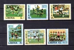 Liberia   1985   .-   Y&T   Nº     1015/1020   ( C/ Charniere ) - Liberia