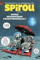 Bulletin D'abonnement Spirou - Ill. Yohann Et Vehlmann - Spirou Et Fantasio
