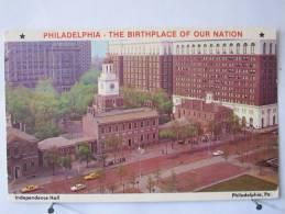 Etats Unis - Pennsylvanie - Philadelphie - Independance Hall -  Scan Recto-verso - Philadelphia