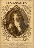 LES ANNALES-- 15 Juillet 1922-- Molière - - Livres, BD, Revues