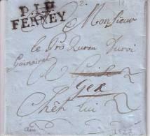 P.1.P FERNAY  PORT PAYE . PP1 - 1801-1848: Precursors XIX