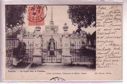 Ardennes Guerre 1870 BAZEILLES Près Sedan  La Crypte Dans Le Cimetiere 1904 Dos Non Divisé - France