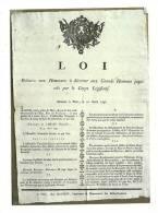 Cp, Histoire, Les Murailles De La Révolution Française - 08, Affiche Annonçant La Création Du Panthéon - History