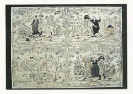 Cp, Histoire, Les Murailles De La Révolution Française - 13, Affiche D'intérieur Relatant La Révolution Française - History