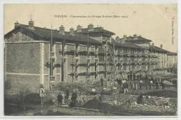 VERGEZE (ETAT) - CONSTRUCTION DU GROUPE SCOLAIRE - MARS 1907 - Vergèze