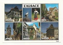 Cp, Région, L´Alsace, Multi-Vues - Alsace