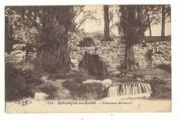 Cp, 25, Besançon, Fontaine Billecul, Voyagée 1924 - Besancon