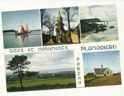 Cp, 29, Plomodiern, Multi-Vues, Voyagée - Plomodiern