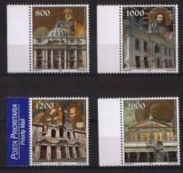 Vaticano  2000  Anno Santo La Serie Cpl. 4 Valori Nuovi** - Vaticano