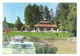 Cp, 62,Bagatelle, Parc D'Attractions Entre Berck Et Merlimont, La Pillotte Vue Du Restaurant, Voyagée 1974 - Autres Communes