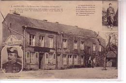Ardennes Guerre 1870 BAZEILLES Près Sedan  Maison Des Dernières Cartouches  Sergent Poitevin Et Gl Lambert - Other Municipalities
