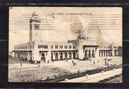 32401     Algeria,  Oran  -   La  Nouvelle  Gare  P.-L.-M.,  VGSB  1912 - Oran