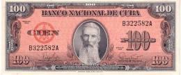 Cuba P.93 100 Pesos 1959 A-unc - Cuba