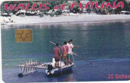 WALLIS Et FUTUNA - Embarcation(with Number), Tirage 500, Used - Wallis And Futuna