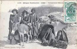 SENEGAL, Afrique Occidentale - SOUDAN - Campement Maurice, Gelaufen 1908, Schöne Frankierung - Senegal