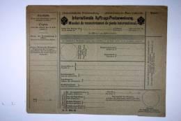 Austria, Internationale Auftrags-Postanweisung DS 434 B