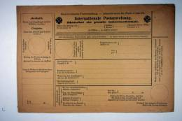 Austria, Internationale Auftrags-Postanweisung