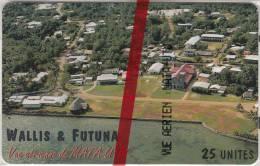 WALLIS Et FUTUNA(chip) - Vue Arienne De Mata-Utu(with Number), Tirage 600, 04/97, Mint - Wallis And Futuna