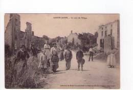 88 - Sainte Barbe Un Coin Du Village Carte Voyagée Belle Animation - Non Classificati