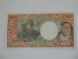 1000 Mille Francs 1996 - Institut D´émission D´outre Mer. - Papeete (Polynésie Française 1914-1985)
