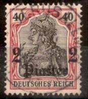 LEVANT.BUREAUX ALLEMANDS.1905.MICHEL N°41.OBLITERE.W59 - Deutsche Post In Der Türkei