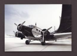 AVIONS - AVIATION - AIRPLANES - LUFTHANSA JU52 D-AQUI BERLIN TEMPELHOF - 1946-....: Moderne