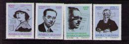 Argentina 1982 SC 1334-1337 MNH - Unclassified