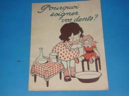 Bureau D Assistance A L Enfance Croix Rouge Americaine Pourquoi Soigner Vos Dents(dentiste Medecine) - Autres Collections