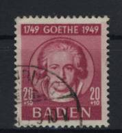 Baden Michel No. 48 gestempelt used