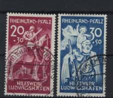 Rheinland Pfalz Michel No. 30 - 31 I gestempelt used