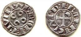 LANGUEDOC . NARBONNE . ERMENGARDE . DENIER . QUALITE++++ - 476-1789 Monnaies Seigneuriales