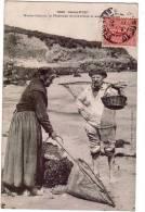 CARENTEC/29/Marie-Jeanne, La Pêcheuse De Crevettes Et Son Bonhomme/Ref:562 - Carantec