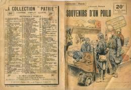"""Souvenirs D'un Poilu - Collection """" PATRIE """" - 1919 -  N° 134 - ( Cachet Librairie MAL , Pont-à-Celles )    (2668) - Books"""