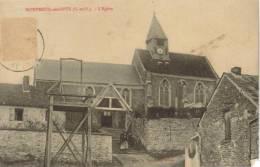 CPA MONTREUIL SUR EPTE (Val D'Oise) - L'église - Autun
