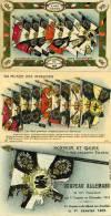 """6248 - Trois Cpa Drapeaux Pris Aux Allemands """"honneur à Nos Héros !"""" Trophées - Guerra 1914-18"""