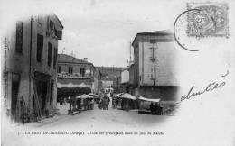 La Bastide De Sérou  Jour De Marché - Other Municipalities