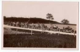 TRANSPORT MOTORBIKES CROATIA JASTREBARSKO MOTORBIKES 1929. OLD POSTCARD - Motos