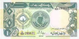 BILLETE DE SUDAN DE 1 POUND DEL AÑO 1987 (BANKNOTE) SIN CIRCULAR-UNCIRCULATED - Sudan