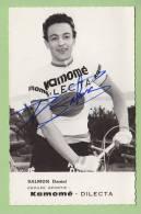 Daniel SALMON, Autographe Manuscrit, Dédicace. 2 Scans. GS Kamomé Dilecta - Cycling